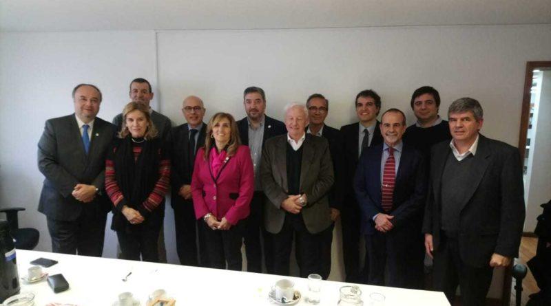 Visita de Francesc Pedró, director del IESALC, al CIN al CIN
