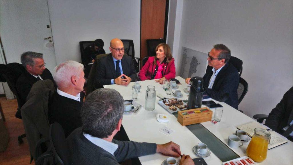 Visita de Francesc Pedró, director del IESALC, al CIN