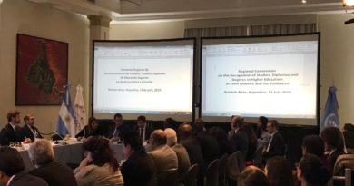 Clausura de Conferencia Internacional de Estados