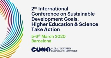 Call for contributions for the 2nd GUNi International Conference on SDGs: Higher Education and Science take action! / GUNi