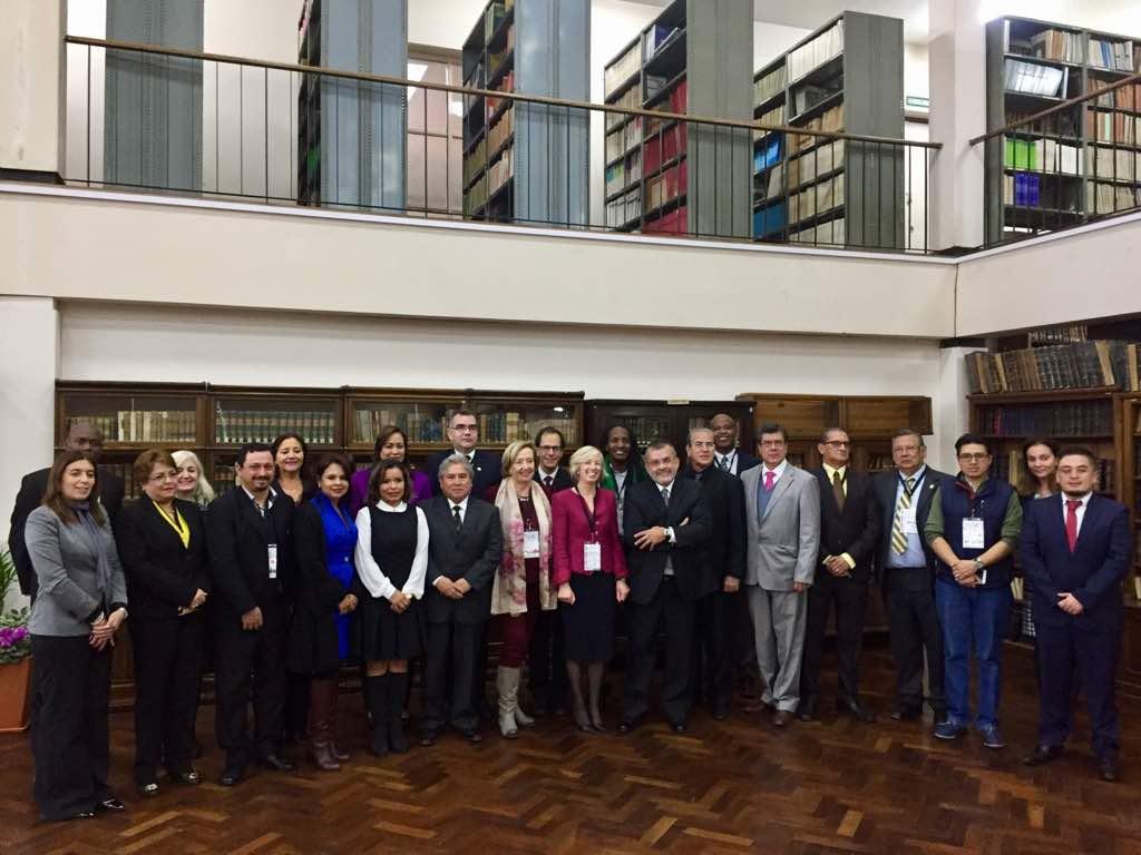 II Reunión Intergubernamental para la revisión del Convenio Regional de Reconocimiento de Estudios realizada en Córdoba en junio 2018 en el marco de la III CRES
