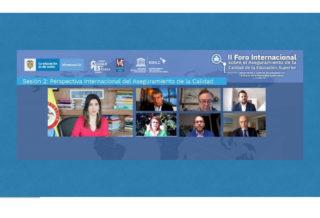 Estudio del IESALC inauguró II Foro Internacional sobre el Aseguramiento de la Calidad de la Educación Superior 2020