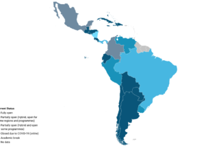 COVID-19: Monitoring the state of higher education in Latin America and the Caribbean