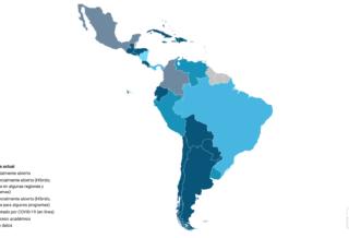 COVID-19: Seguimiento del estado de la educación superior en América Latina y el Caribe